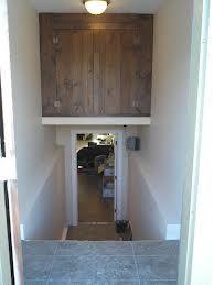 Basement Stairs Storage storage above stairwell - google search | rangement idée