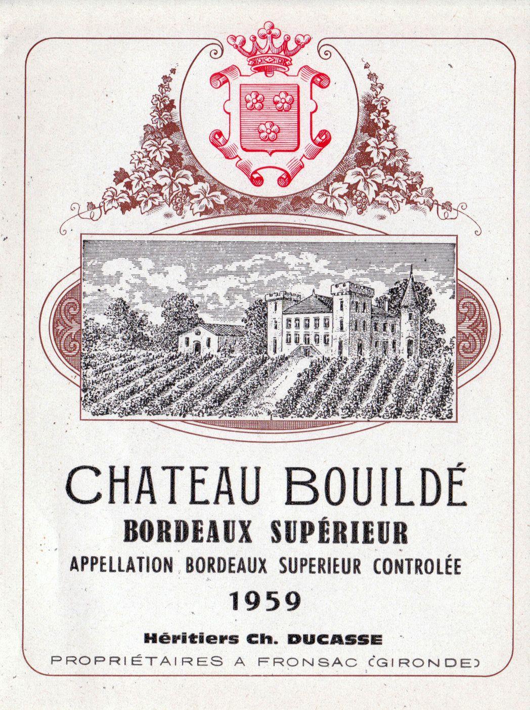 Wine Label Vintage Bordeaux Region Wine Labels French Wine Labels Wine Label Vintage Antique Wine Labels