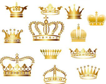 Pin By Angela Castillo On Design In 2020 Crown Clip Art Gold Crown Baby Shower Princess