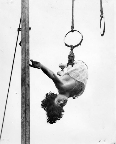 Vintage Circus Photo From The Wisconsin Historical Society Archives