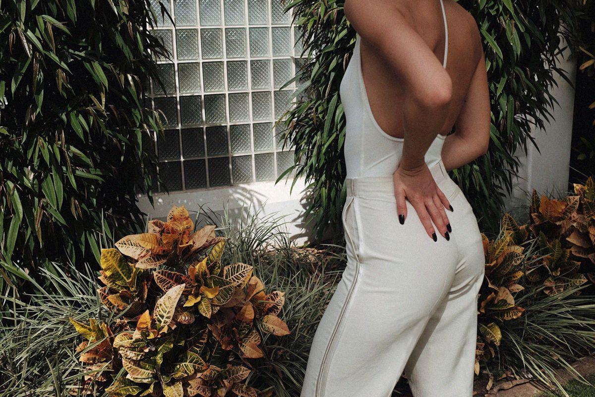 margiela trousers, AQ/AQ Body suits .. Karla's closet