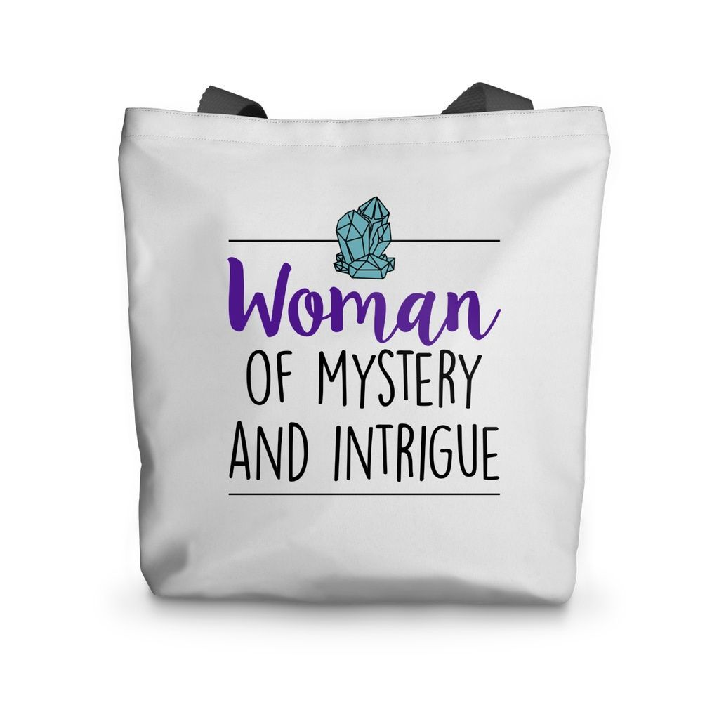 Woman of Mystery & Intrigue Tote Bag