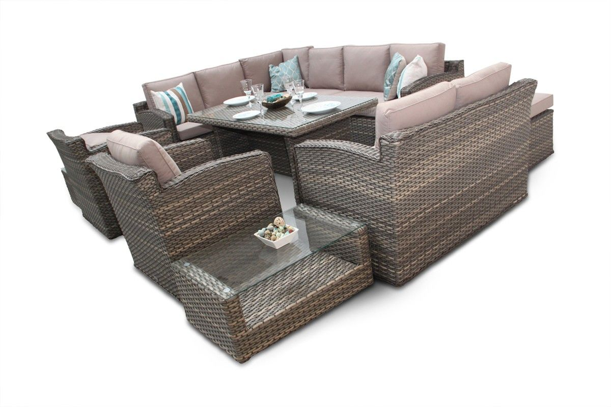 Corner Sofa Outdoor Dining Set Fred Meyer Covers Chelsea Grand Rattan Natural