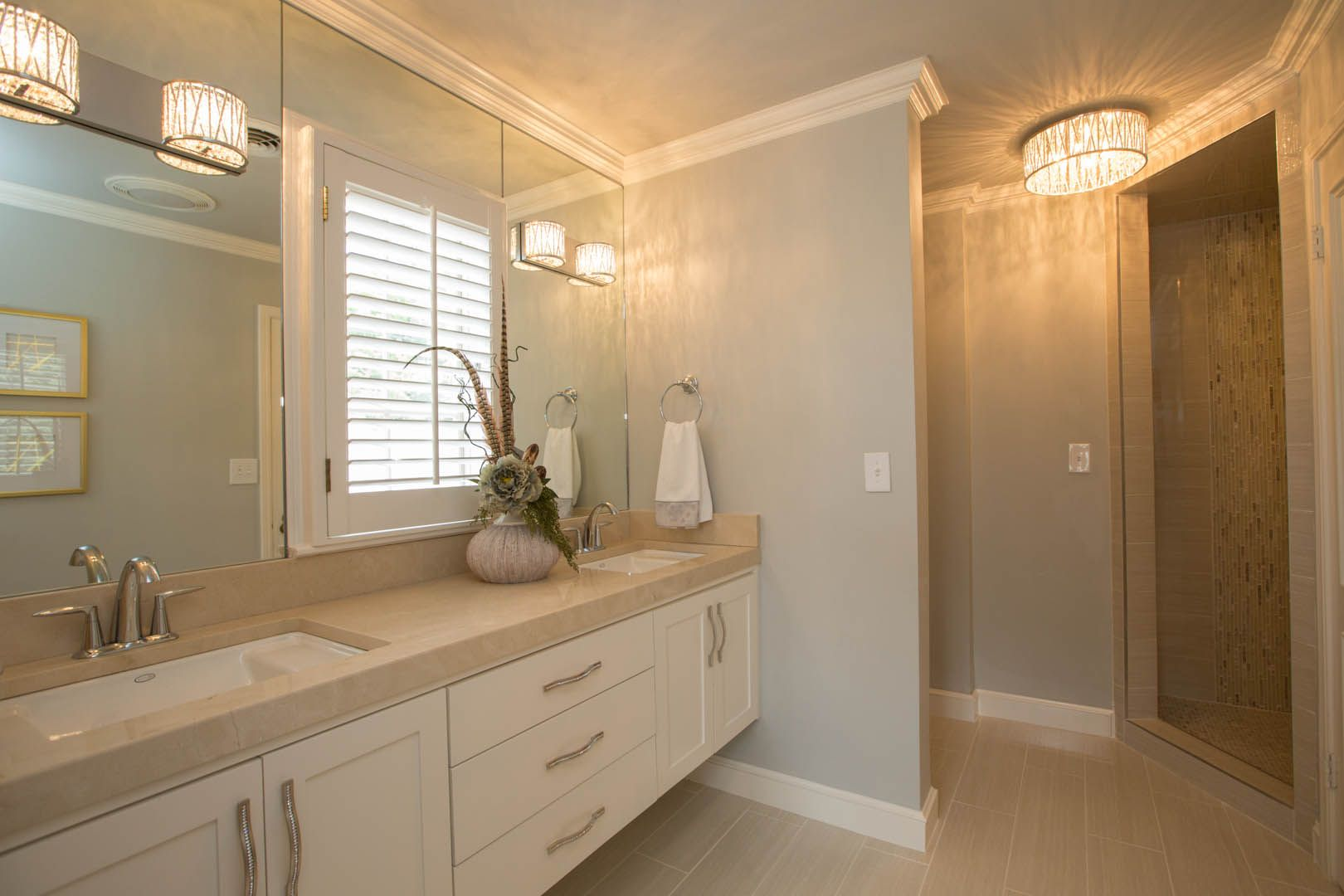 Bathroom - This Midtown Tulsa home was completely ...