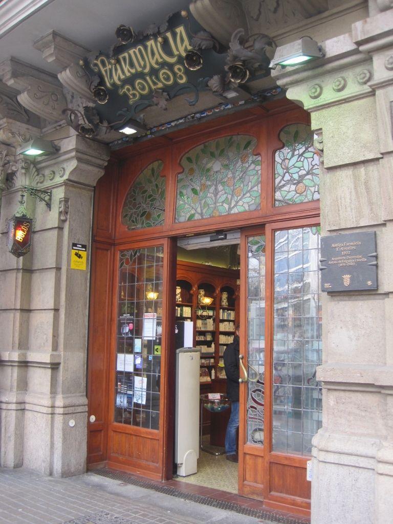 Farmacia Bol S Antigua Farmacia Novelles 1902 Decoraci N  # Rufino Muebles San Telmo