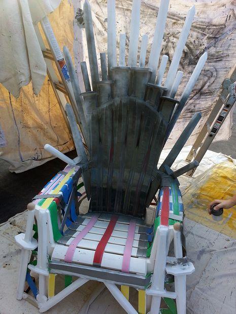 DIY Iron Throne Sword