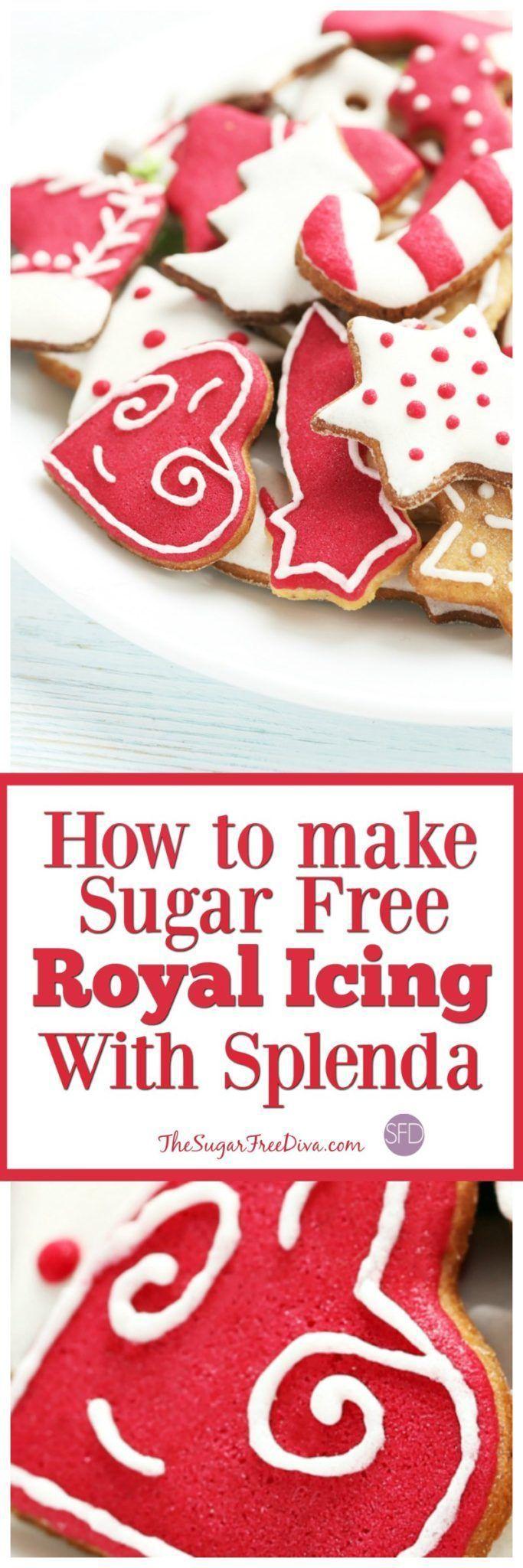 How to Make Sugar Free Royal Icing with Splenda