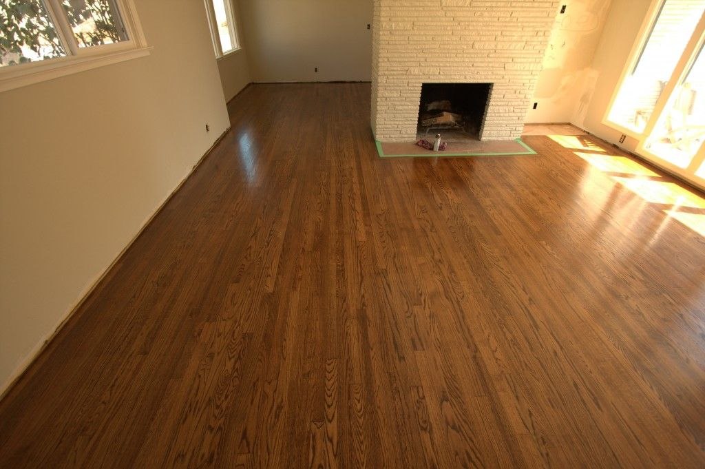 1 Common Red Oak Refinish Coffee Brown And Spice Brown Mixture