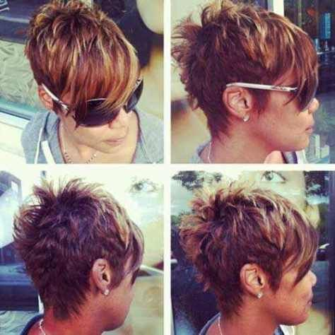layered textured pixie fine hair - Bing images