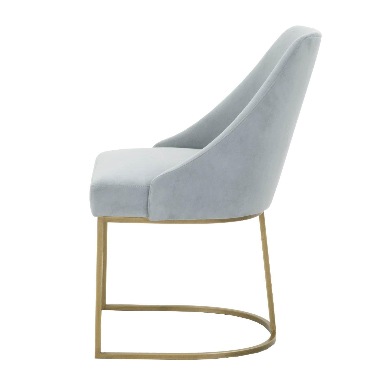 Palmdale Velvet Chair Side View Velvet Chair Shop Chair Chair