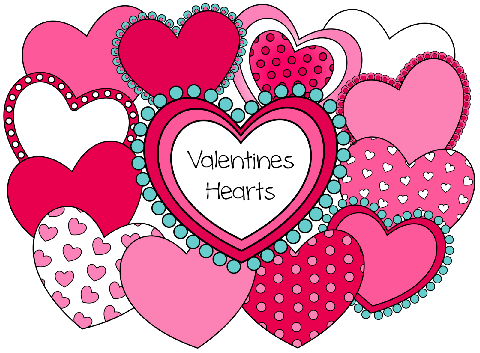 Valentine Hearts – 12 hearts you can resize and layer in many ...