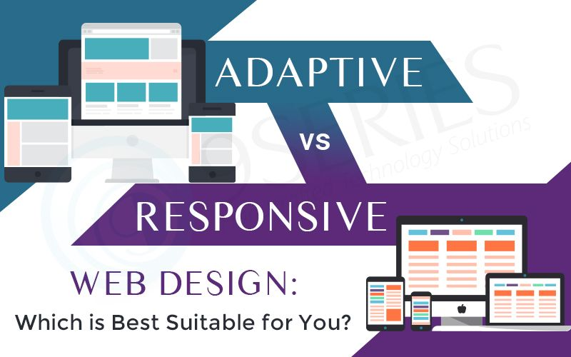 Adaptive Vs Responsive Web Design Which Is Best Suitable For You The Difference Between Responsive And Ada Responsive Web Design Web Design Adaptive Design