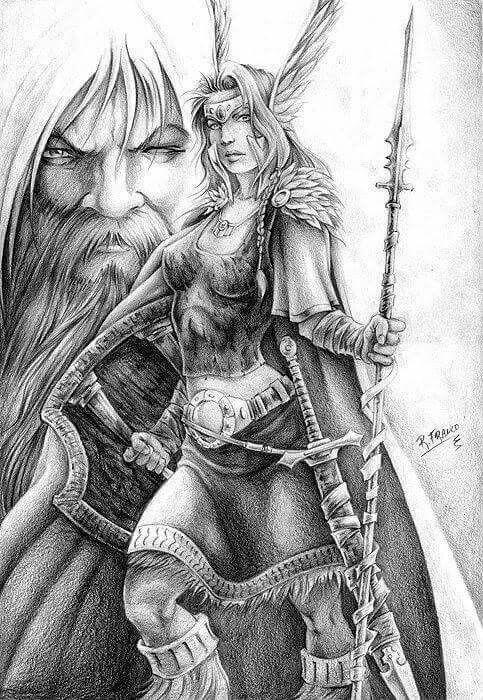 Image Result For Viking Art Worrior In 2018 Pinterest
