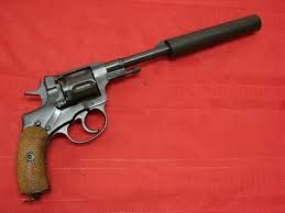 Image result for silenced revolver