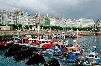 A Coruna fishing vessels
