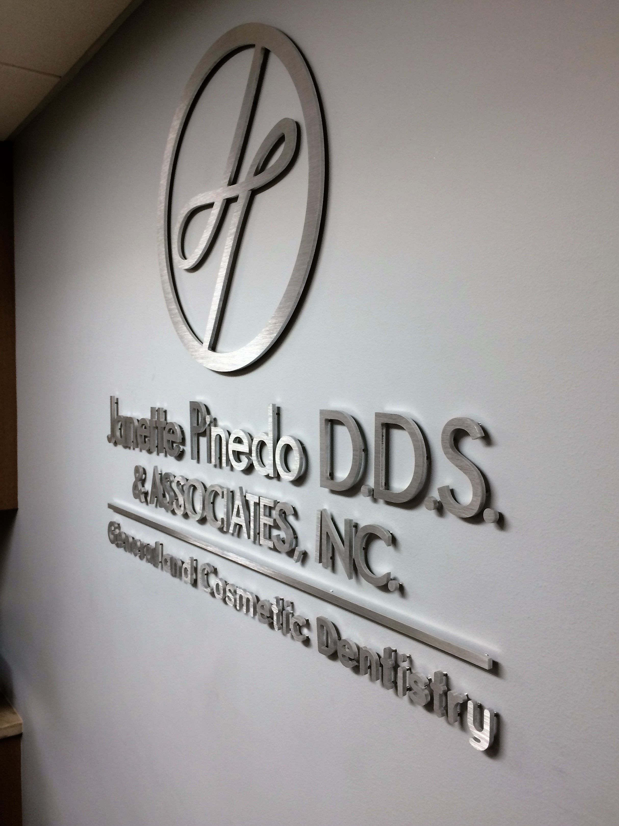 This Is A Dimensional Letter Lobby Sign That We Made By Routing