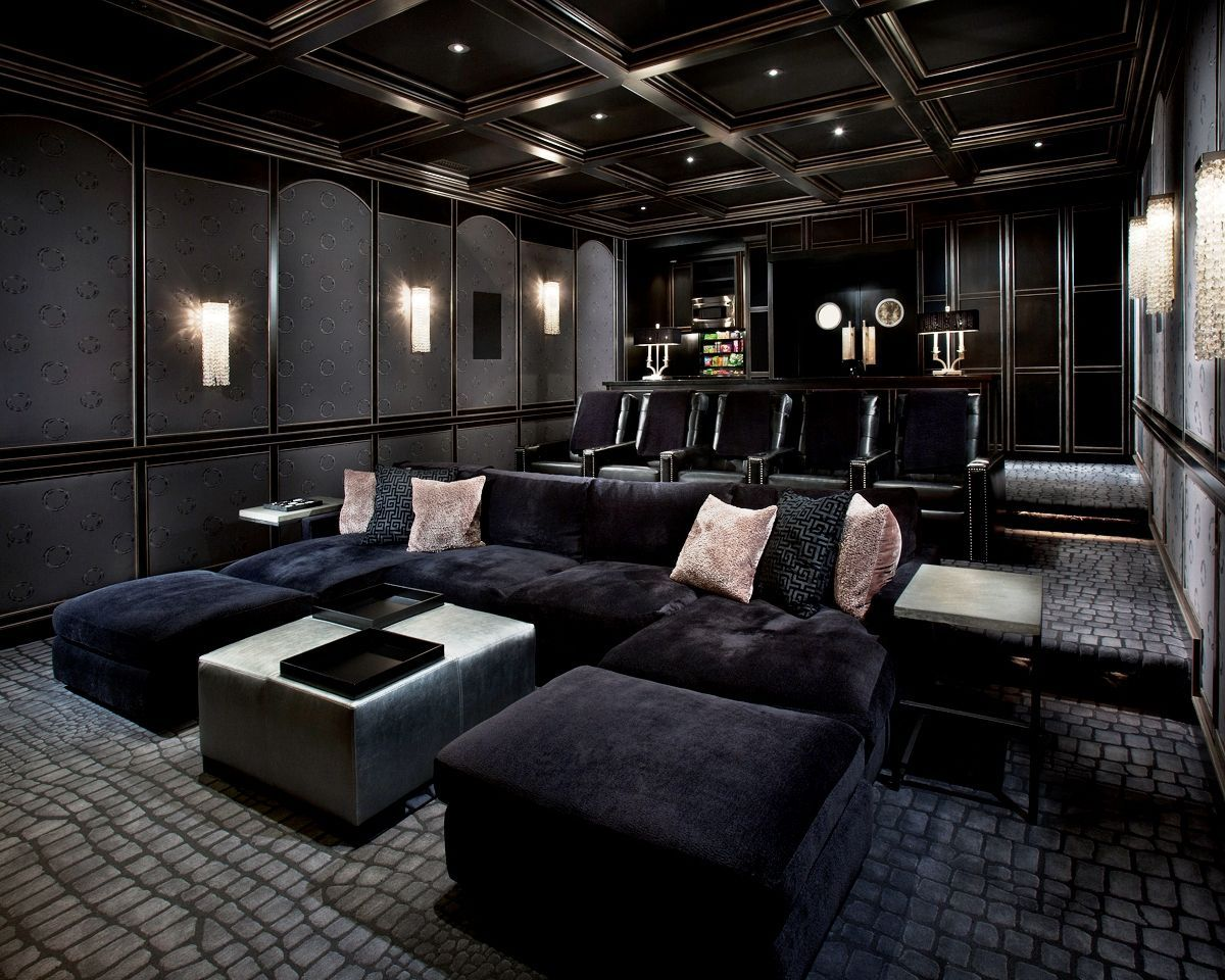 Basement Movie Theater Room Ideas