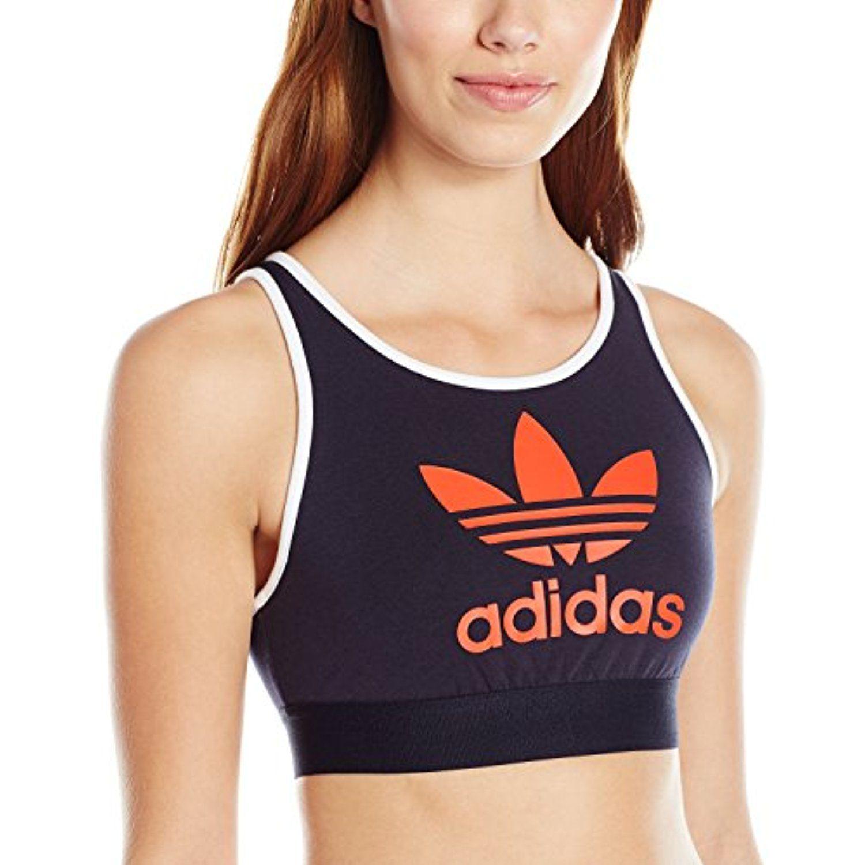 adidas Women's Originals Trefoil Bra *** For more