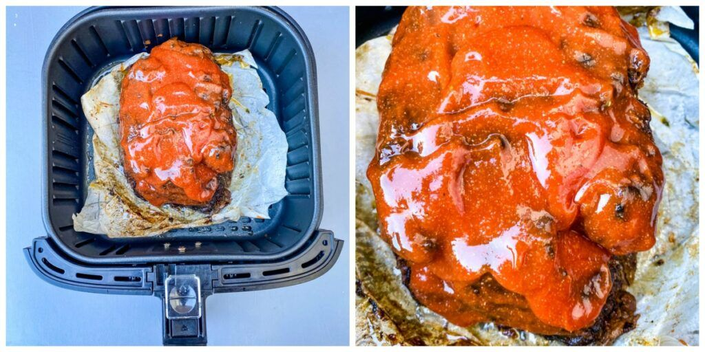 Easy Air Fryer Meatloaf Recipe is a quick dish using 2