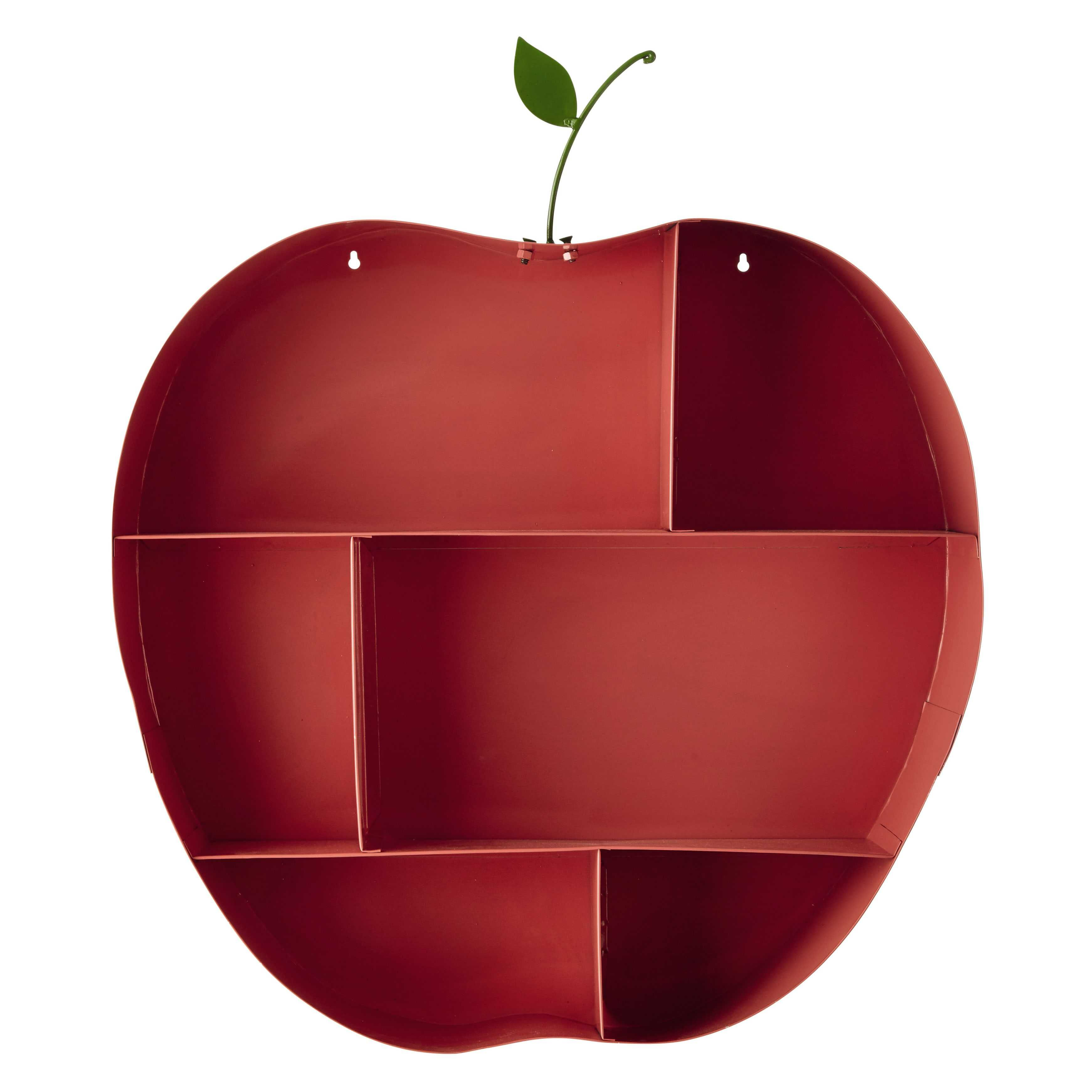 Wandregal Apfel aus Metall rosa H 73 cm API | KIDS KIDS KIDS ...