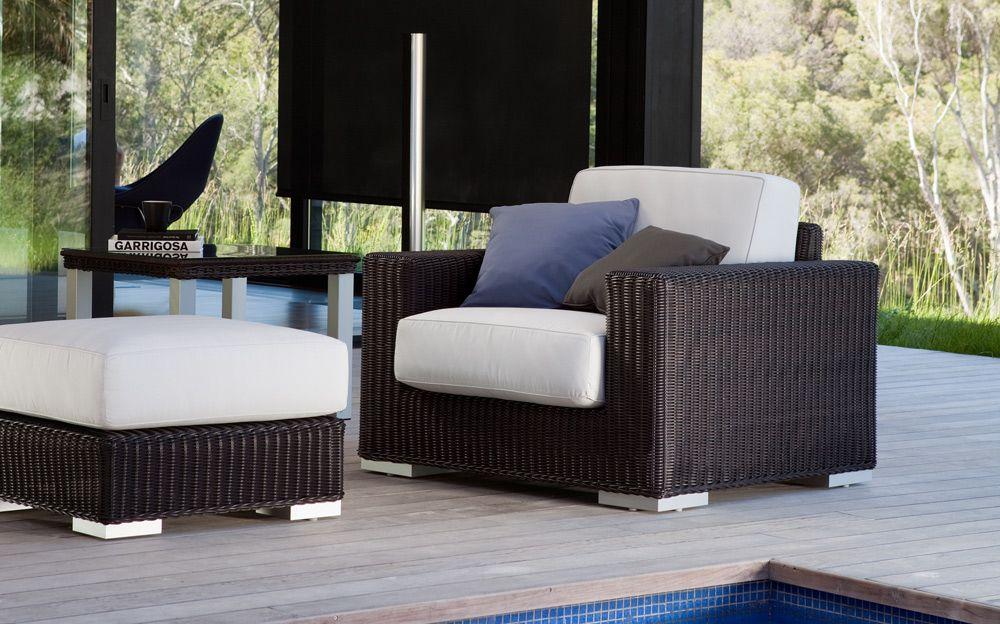 Modern Outdoor Furniture Real Wicker 1000