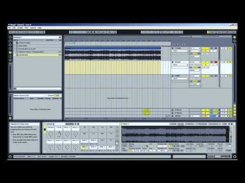 Ableton Live Tutorial - Chopping Samples MPC MPD Slice