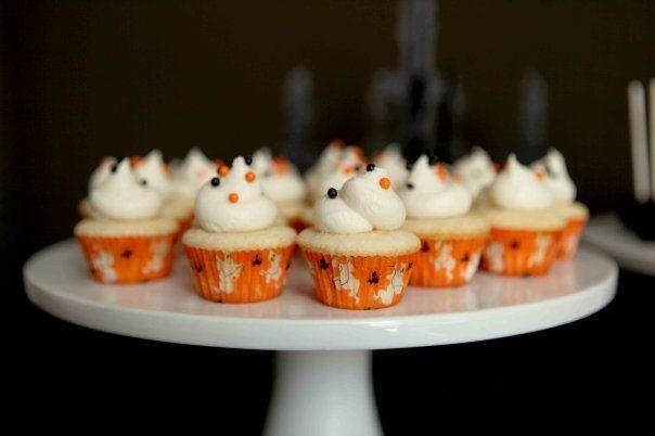 cute halloween mini cupcakes