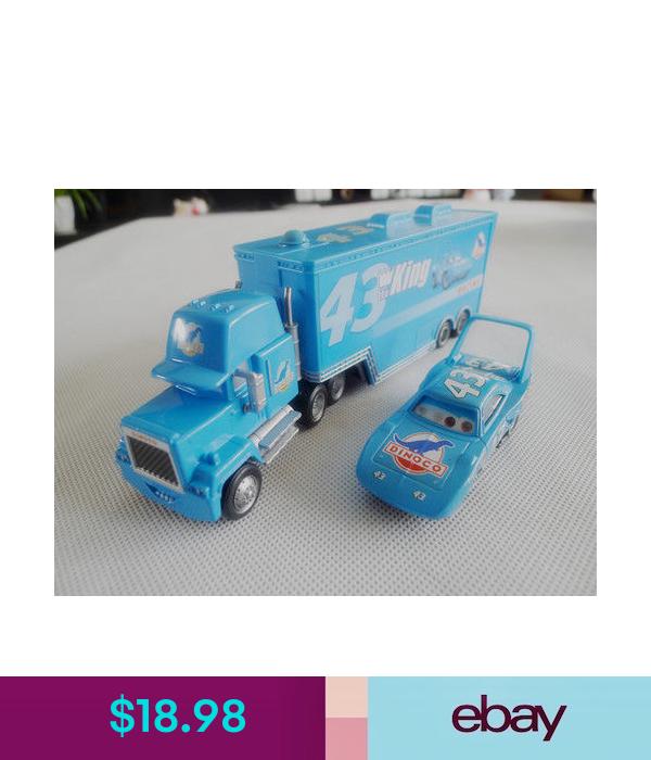 Character Toys Disney Pixar Cars The King Hauler Truck