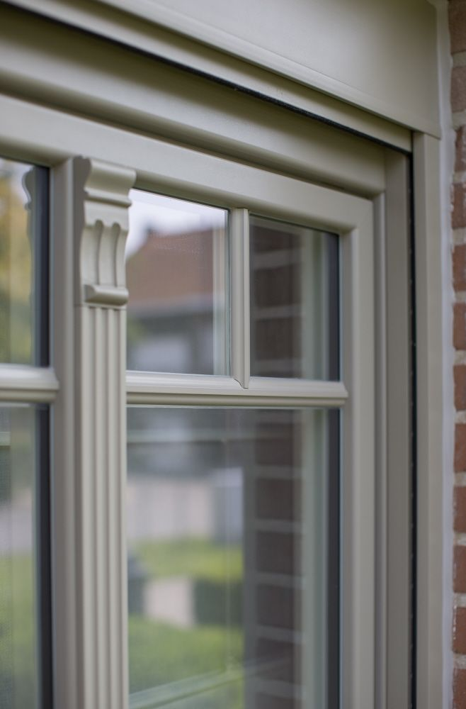 Photo of Reference Windows Vandenbroucke in Oudenaarde – PVC windows with decorative