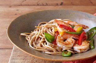 Sizzling Sesame-Shrimp Noodles Recipe - Kraft Canada
