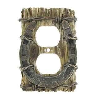 Horseshoe Outlet Plate Cover Shop Hobby Lobby Outlet Plate Cover Outlet Plates Outlet Covers
