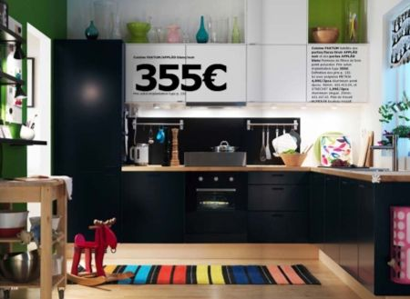 1000 images about svart kjkken on pinterest - Cuisine Bois Noir Ikea