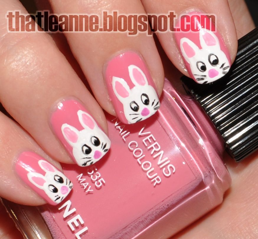 thatleanne nail art so cute for a little girl - Little Girl Nail Design Ideas