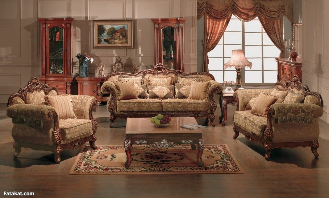 Fancy Living Room Set