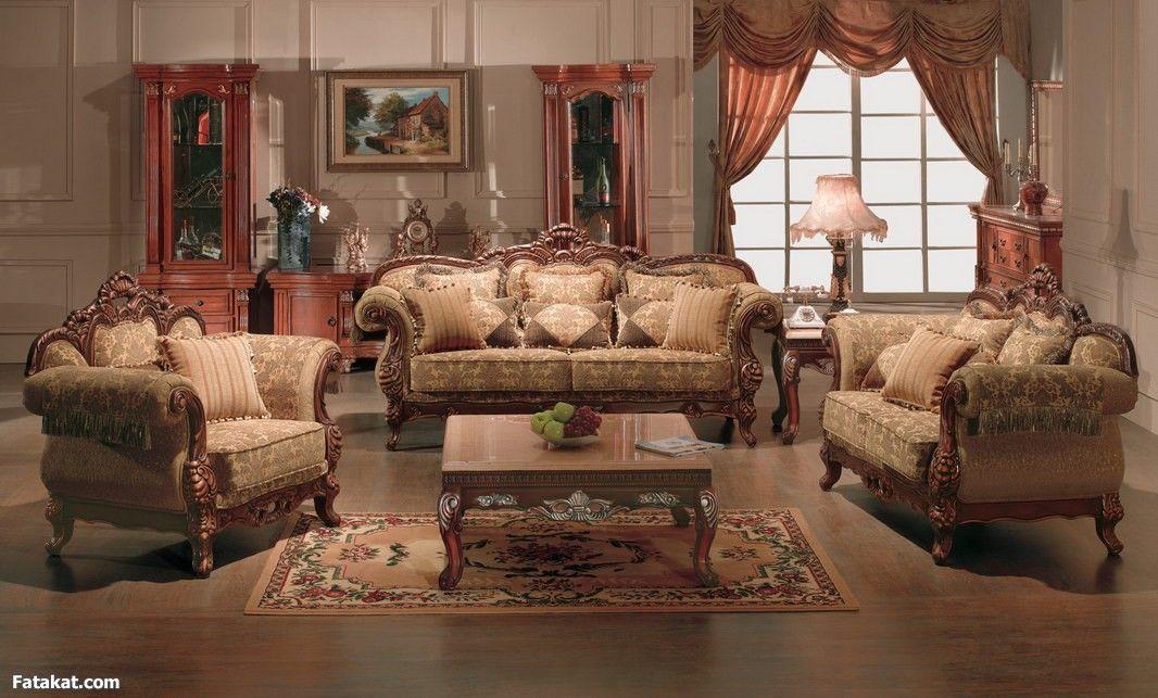 Fancy Living Room Set Set Sofa Dekorasi Ruang Keluarga Set