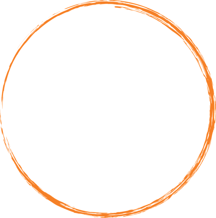 Free Image On Pixabay Orange Round Circle Paint Brush Circle Logo Design Circle Frame Logo