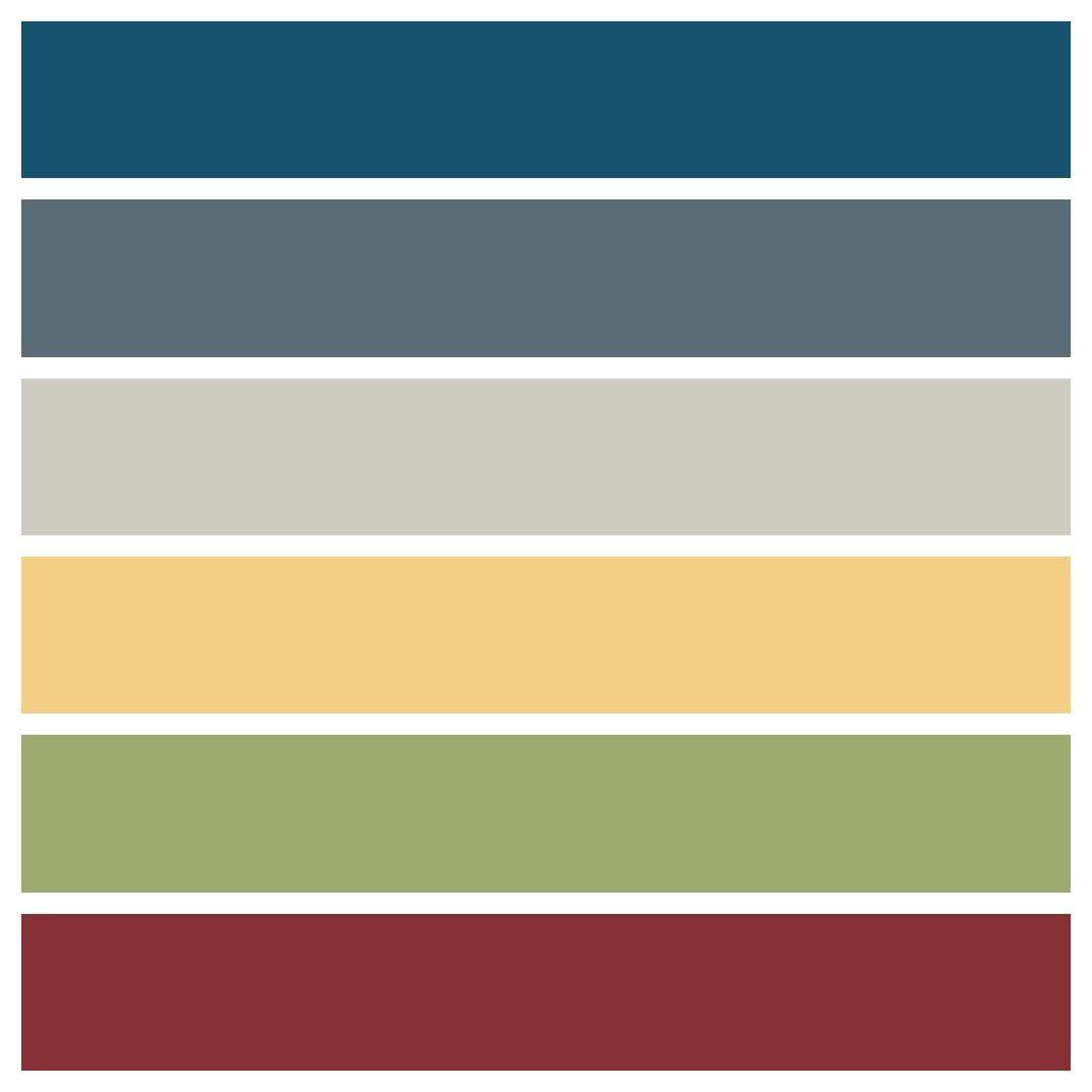 Five No Fail Palettes For Colorful Kitchens: Carmen & Vanessa's Colourful Paint Palette, Season 5