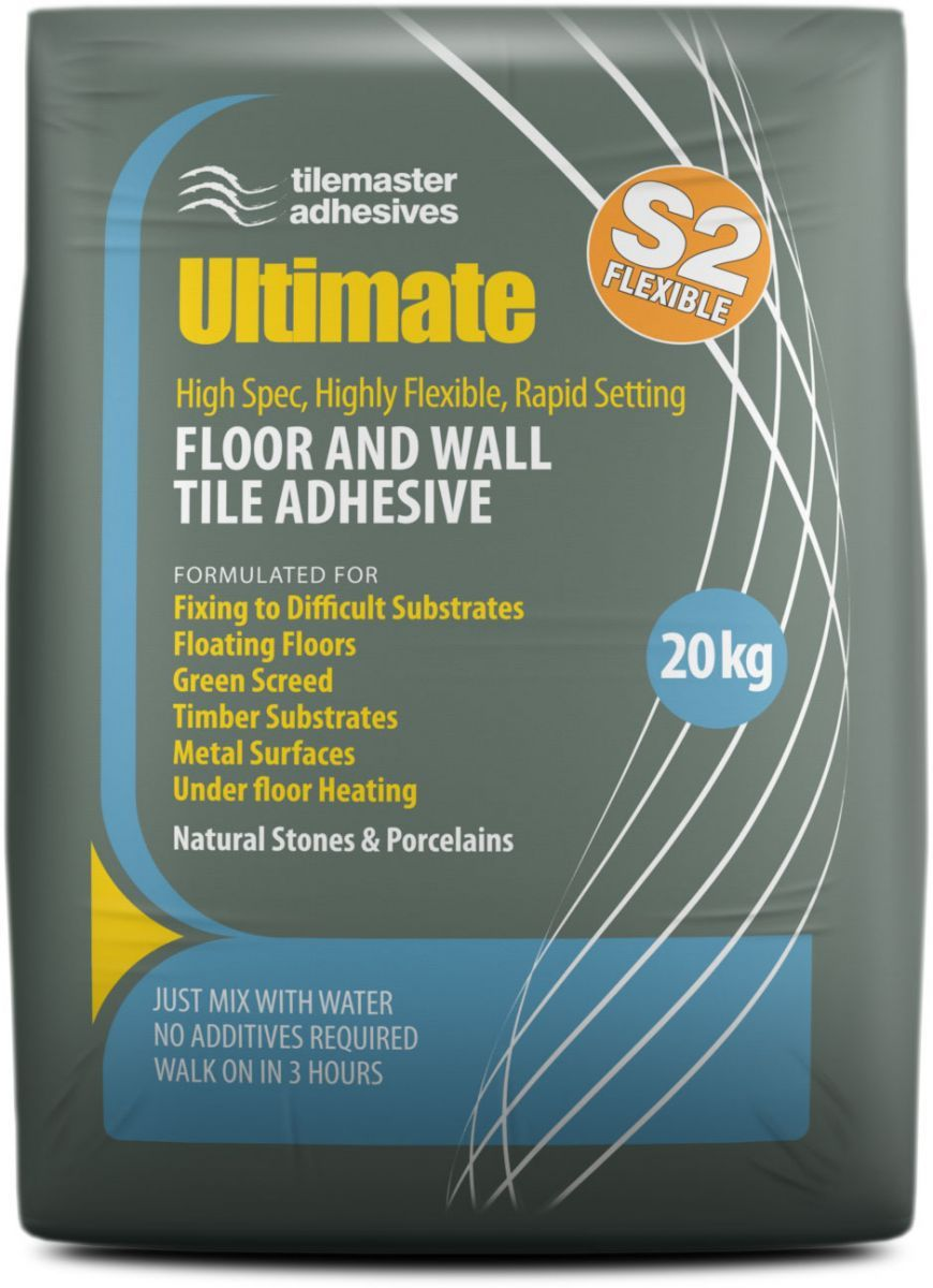 Tilemaster Ultimate Tile Adhesive Https Www Tiledealer Co Uk Tilemaster Adhesives Rapid Set 16057 Html Wall Tile Adhesive Adhesive Tiles Flexible Tile