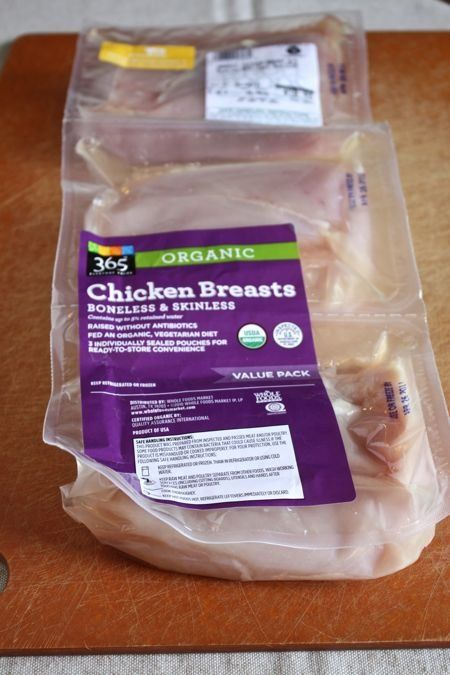 Smart Packaging Whole Foods Organic Chicken Breasts Dinner