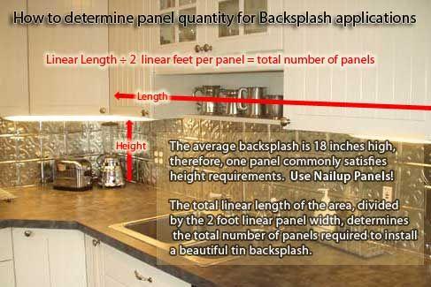Tin Backsplash Company With Faq S And Demo Videos Kitchen Redecorating Tin Ceiling Backsplash Backsplash