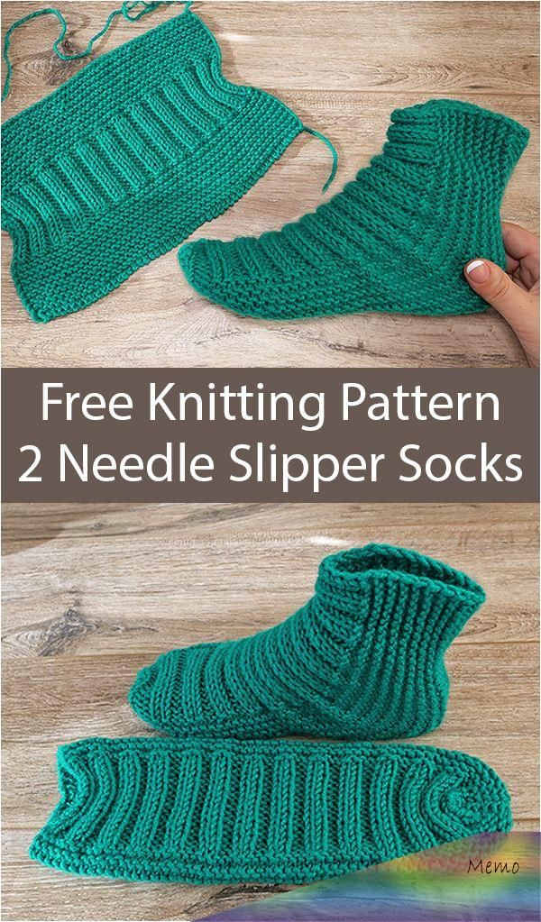 Nov 29, 2019 - Free Knitting Pattern for Easy Two Needle ...