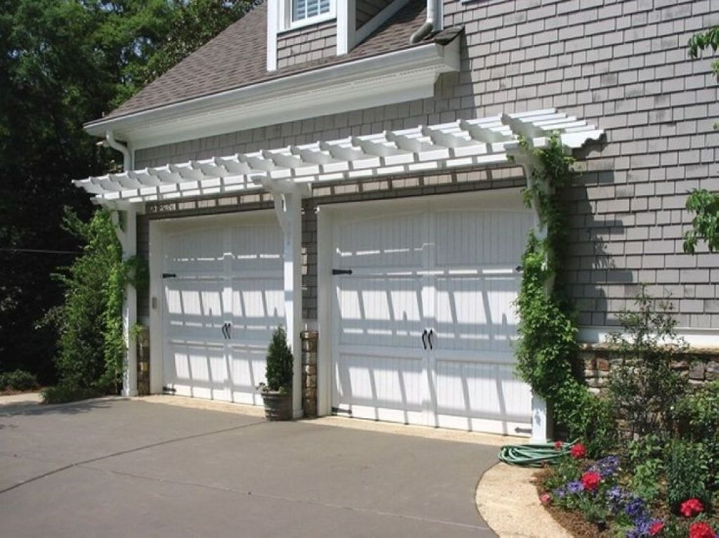 Garage Pergola For Exciting Focal Point in 2020 | White ...