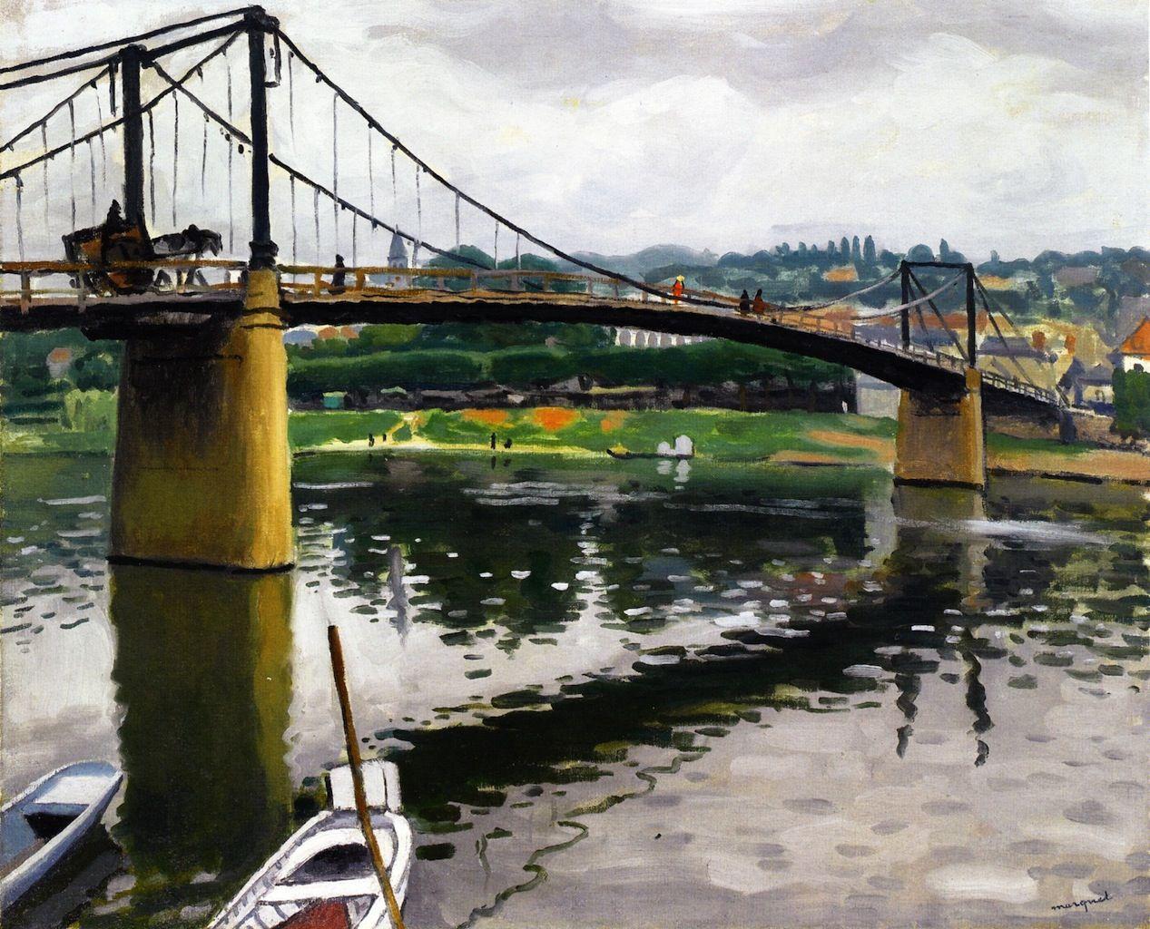 Le Pont de Triel - Albert Marquet