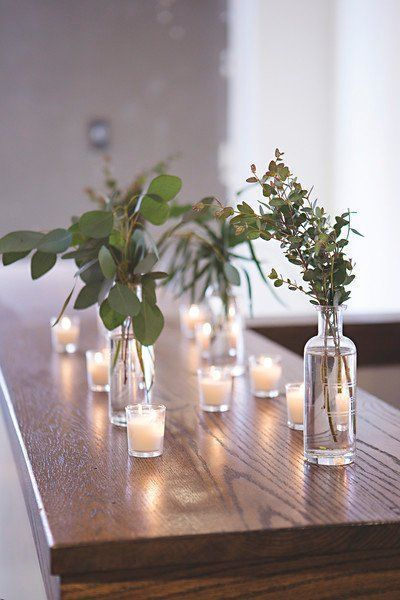 37 Romantic Greenery Wedding Centerpieces for 2019 37 Romantic Greenery Wedding Centerpieces for 20