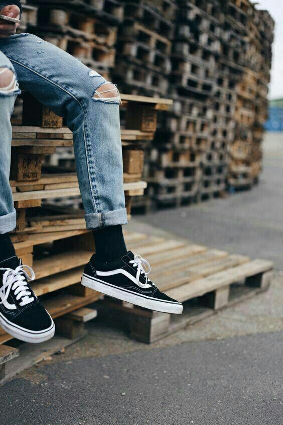 Vans Old Skool Vans Old Skool Outfit Sneakers Men Fashion Old Skool Outfit