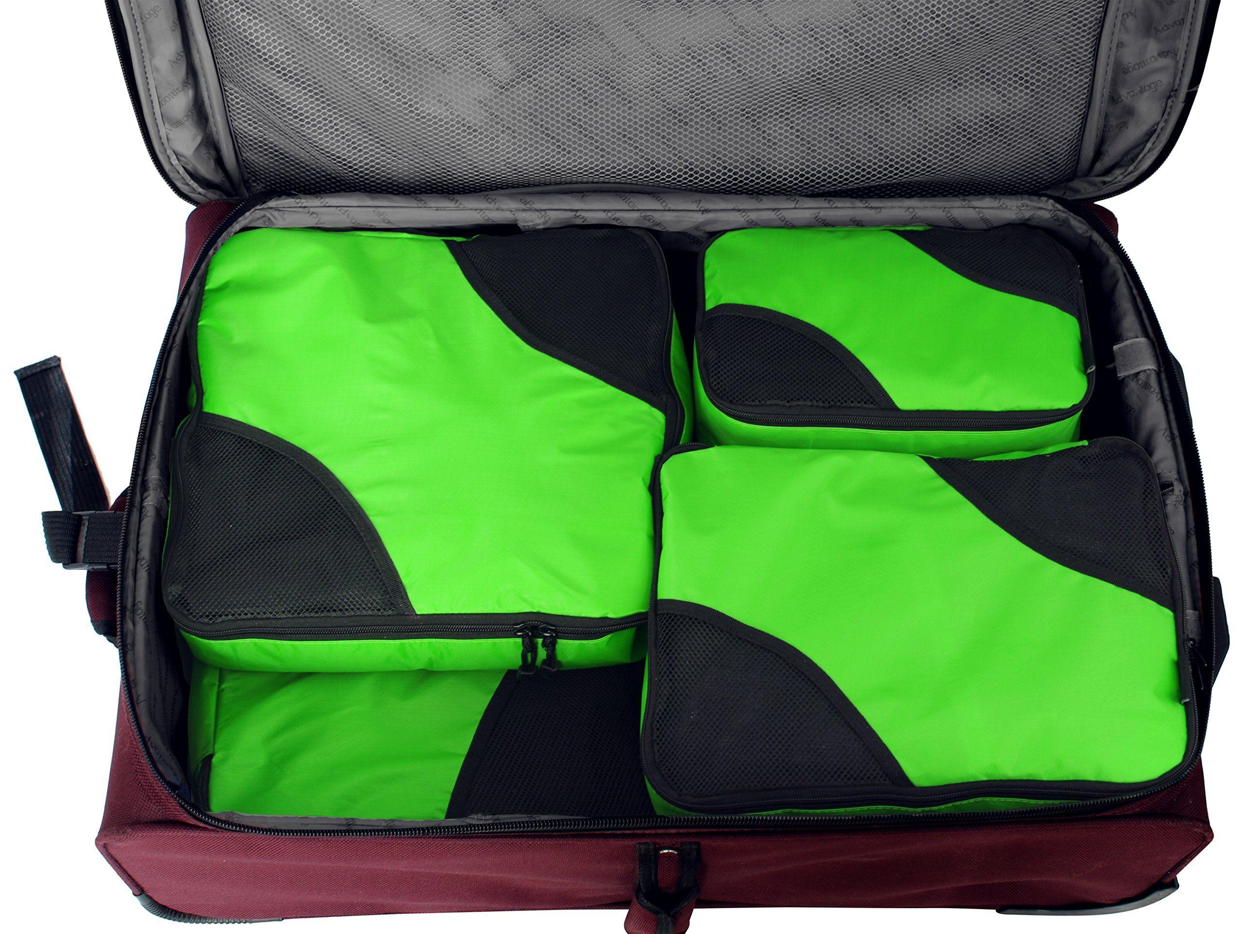 6 pcs set 5 packing cubes plus shoe baglaundry bag travel 6 pcs set 5 packing cubes plus shoe baglaundry bag travel solutioingenieria Choice Image