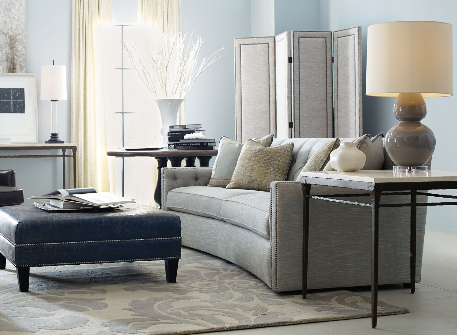 Elegant Candace Sofa By Bernhardt. Available From Toms Price.