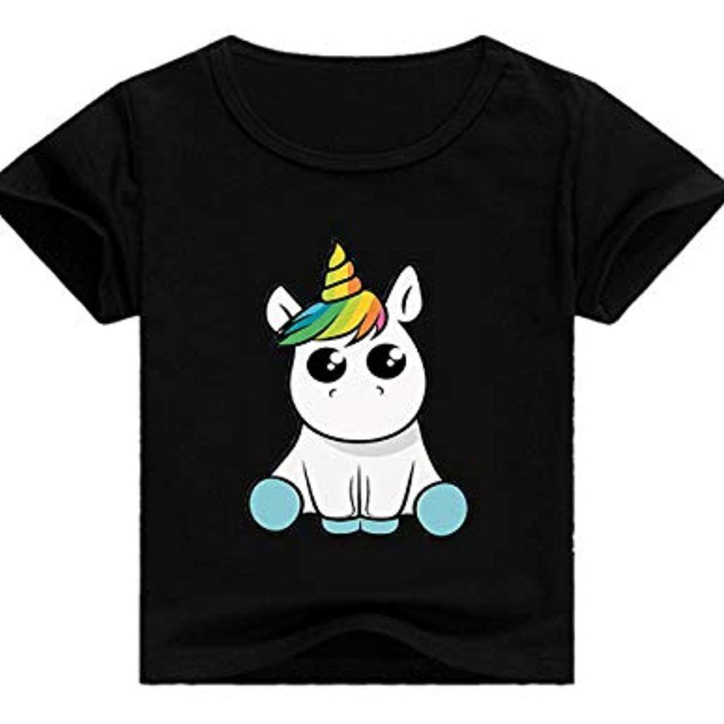 Childs Plain White T-Shirt Girocollo Maglia Maniche Corte Unisex Costume