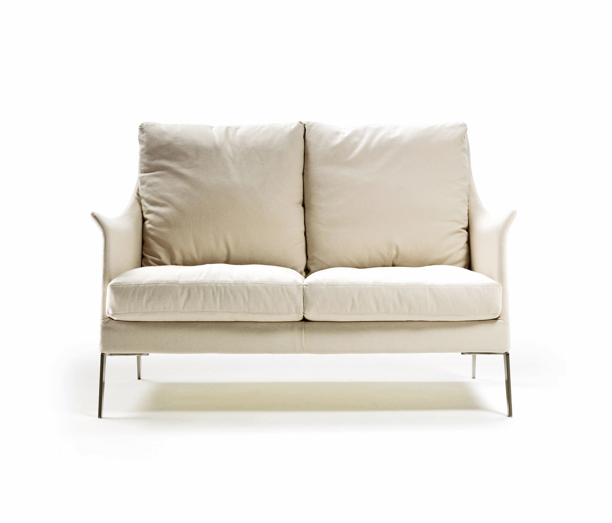 Flexform s Boss Loveseat flexform loveseat leather white