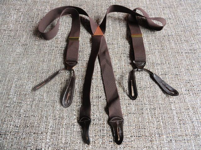 Vintage Hickok Button Suspenders by cherylanngoods on Etsy